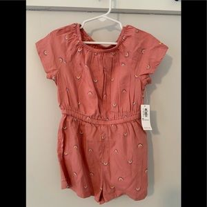 4T outfit : old navy romper NWT *3 for 25 sale ite